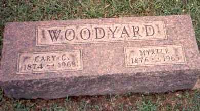 WOODYARD, MYRTLE - Athens County, Ohio   MYRTLE WOODYARD - Ohio Gravestone Photos