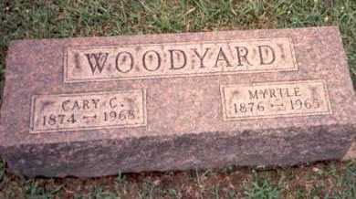 WOODYARD, MYRTLE - Athens County, Ohio | MYRTLE WOODYARD - Ohio Gravestone Photos
