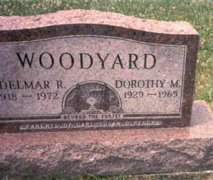 WOODYARD, DOROTHY M. - Athens County, Ohio   DOROTHY M. WOODYARD - Ohio Gravestone Photos