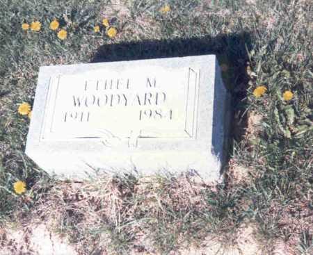 HUGHES WOODYARD, ETHEL M - Athens County, Ohio | ETHEL M HUGHES WOODYARD - Ohio Gravestone Photos