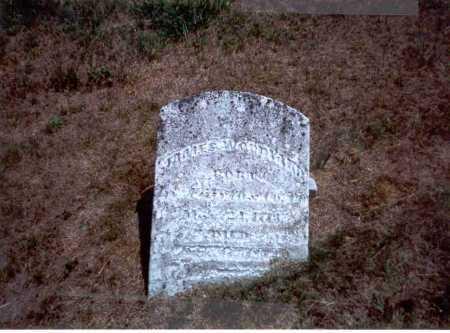 WOODYARD, JAMES - Athens County, Ohio | JAMES WOODYARD - Ohio Gravestone Photos