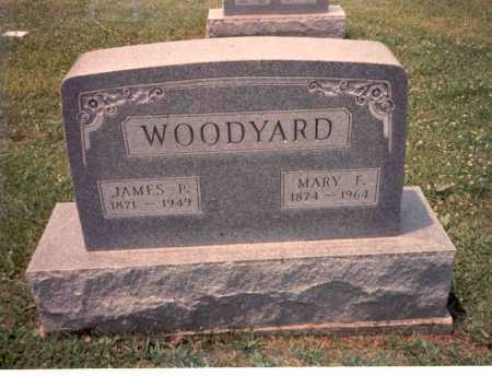 TUBBS WOODYARD, MARY F. - Athens County, Ohio | MARY F. TUBBS WOODYARD - Ohio Gravestone Photos