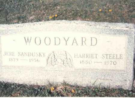WOODYARD, JERE SANDUSKY - Athens County, Ohio | JERE SANDUSKY WOODYARD - Ohio Gravestone Photos
