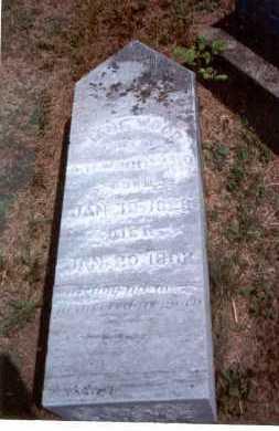 WOOD WOODYARD, JANE - Athens County, Ohio | JANE WOOD WOODYARD - Ohio Gravestone Photos