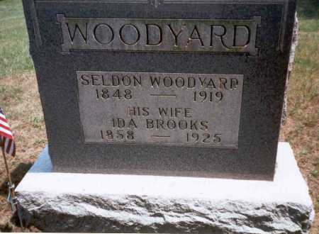 BROOKS WOODYARD, IDA - Athens County, Ohio | IDA BROOKS WOODYARD - Ohio Gravestone Photos