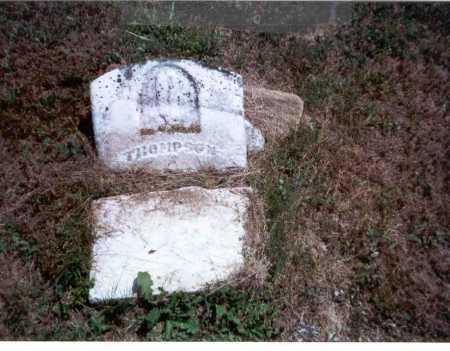 WOODYARD, THOMPSON - Athens County, Ohio | THOMPSON WOODYARD - Ohio Gravestone Photos