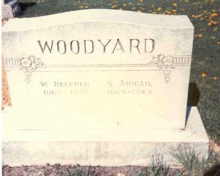 WOODYARD, W. BEECHER - Athens County, Ohio | W. BEECHER WOODYARD - Ohio Gravestone Photos