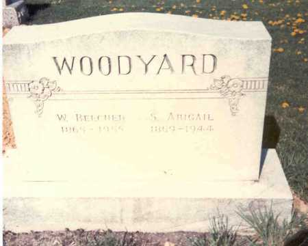 WOODYARD, S. ABIGAIL - Athens County, Ohio | S. ABIGAIL WOODYARD - Ohio Gravestone Photos