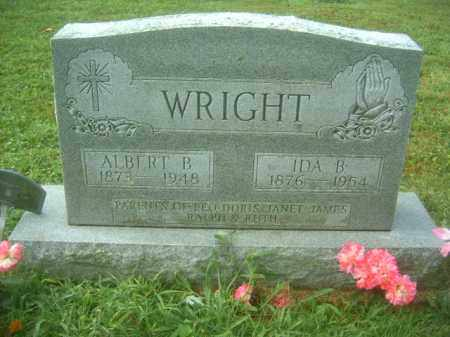 WRIGHT, ALBERT B - Athens County, Ohio | ALBERT B WRIGHT - Ohio Gravestone Photos