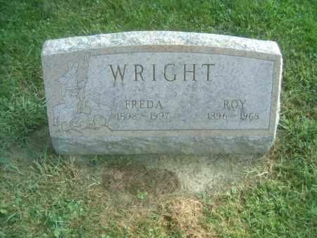 WRIGHT, FREDA - Athens County, Ohio   FREDA WRIGHT - Ohio Gravestone Photos
