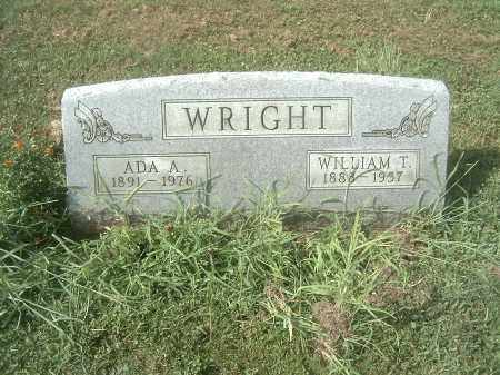 WRIGHT, WILLIAM THOMAS - Athens County, Ohio | WILLIAM THOMAS WRIGHT - Ohio Gravestone Photos