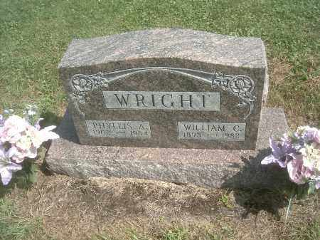 WRIGHT, PHYLLIS A. - Athens County, Ohio | PHYLLIS A. WRIGHT - Ohio Gravestone Photos