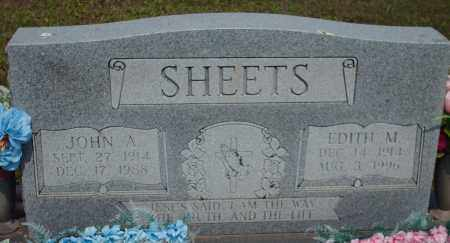 SHEETS, JOHN - Athens County, Ohio   JOHN SHEETS - Ohio Gravestone Photos