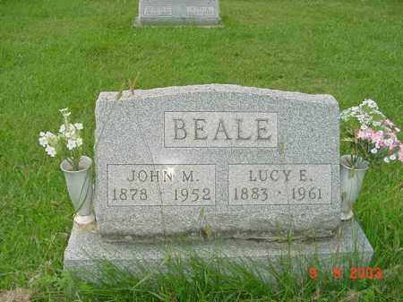 BEALE, LUCY E. - Auglaize County, Ohio | LUCY E. BEALE - Ohio Gravestone Photos