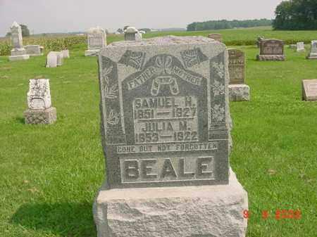 BEALE, SAMUEL H. - Auglaize County, Ohio | SAMUEL H. BEALE - Ohio Gravestone Photos
