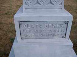 BEWER, CLARA - Auglaize County, Ohio | CLARA BEWER - Ohio Gravestone Photos