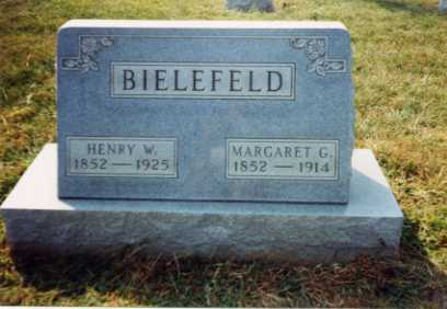 GEYER BIELEFELD, MARGARET - Auglaize County, Ohio   MARGARET GEYER BIELEFELD - Ohio Gravestone Photos