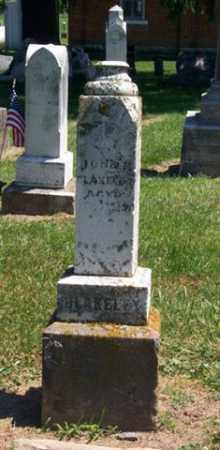 BLAKELY, JOHN H - Auglaize County, Ohio | JOHN H BLAKELY - Ohio Gravestone Photos