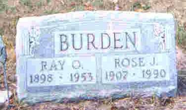 BURDEN, ROSINA J. - Auglaize County, Ohio | ROSINA J. BURDEN - Ohio Gravestone Photos