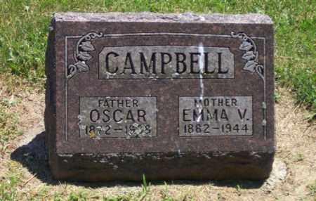 CAMPBELL, OSCAR - Auglaize County, Ohio | OSCAR CAMPBELL - Ohio Gravestone Photos
