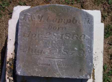 CAMPBELL, SON - Auglaize County, Ohio | SON CAMPBELL - Ohio Gravestone Photos