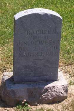 DEWEESE, RACHEL - Auglaize County, Ohio   RACHEL DEWEESE - Ohio Gravestone Photos