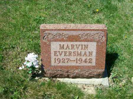 EVERSMAN, MARVIN - Auglaize County, Ohio | MARVIN EVERSMAN - Ohio Gravestone Photos