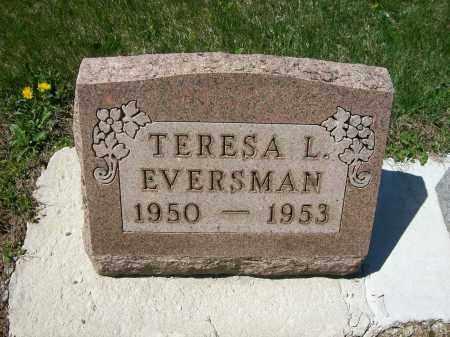 EVERSMAN, TERESA L. - Auglaize County, Ohio | TERESA L. EVERSMAN - Ohio Gravestone Photos