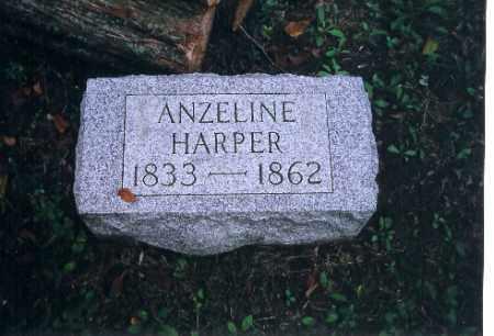 HARPER, ANZELINE - Auglaize County, Ohio | ANZELINE HARPER - Ohio Gravestone Photos