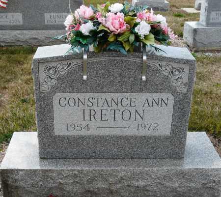 IRETON, CONSTANCE ANN - Auglaize County, Ohio   CONSTANCE ANN IRETON - Ohio Gravestone Photos