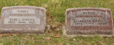 DICKSON KINSTLE, BLANCHE IRENE - Auglaize County, Ohio | BLANCHE IRENE DICKSON KINSTLE - Ohio Gravestone Photos