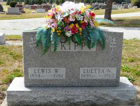 HENKENER KIPP, LUETTA N - Auglaize County, Ohio | LUETTA N HENKENER KIPP - Ohio Gravestone Photos