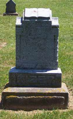 KIZER, MARY - Auglaize County, Ohio | MARY KIZER - Ohio Gravestone Photos