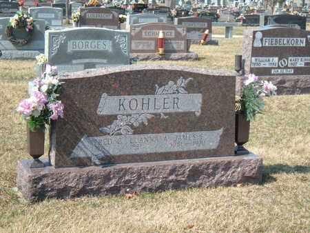 KOHLER, JAMES F. - Auglaize County, Ohio | JAMES F. KOHLER - Ohio Gravestone Photos