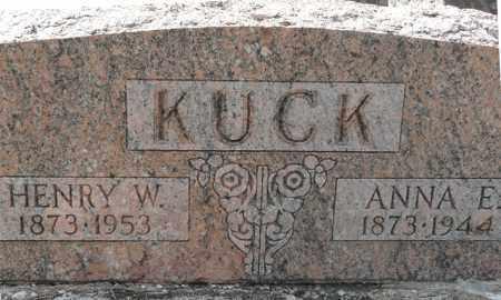 HENKENER KUCK, ANNA E - Auglaize County, Ohio | ANNA E HENKENER KUCK - Ohio Gravestone Photos