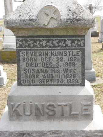 KUNSTLE, SUSANA - Auglaize County, Ohio | SUSANA KUNSTLE - Ohio Gravestone Photos