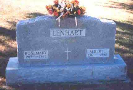 LENHART, ROSEMARY - Auglaize County, Ohio | ROSEMARY LENHART - Ohio Gravestone Photos