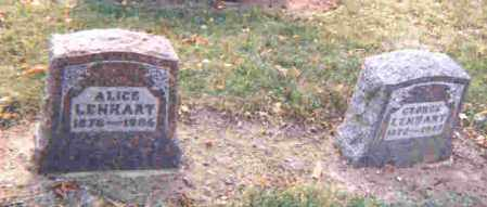 LENHART, GEORGE ADAM - Auglaize County, Ohio | GEORGE ADAM LENHART - Ohio Gravestone Photos