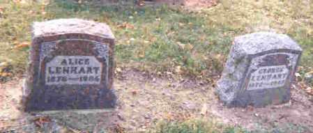 LENHART, OSIE ALICE - Auglaize County, Ohio | OSIE ALICE LENHART - Ohio Gravestone Photos