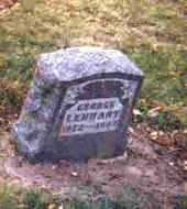 LENHART, GEORGE A. - Auglaize County, Ohio | GEORGE A. LENHART - Ohio Gravestone Photos