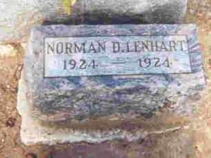 LENHART, NORMAN DALE - Auglaize County, Ohio | NORMAN DALE LENHART - Ohio Gravestone Photos