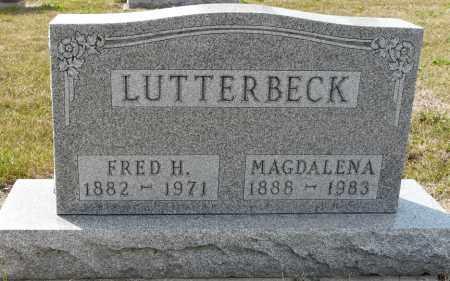 KIPP LUTTERBECK, MAGDELENA SOPHIA - Auglaize County, Ohio | MAGDELENA SOPHIA KIPP LUTTERBECK - Ohio Gravestone Photos