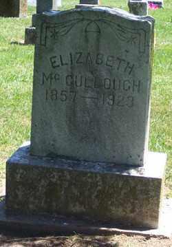 MCCLULLOUGH, ELIZABETH - Auglaize County, Ohio | ELIZABETH MCCLULLOUGH - Ohio Gravestone Photos