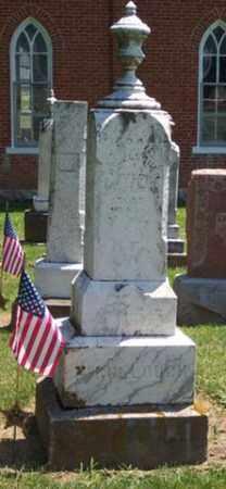 MCCULLOUGH, J NOAH - Auglaize County, Ohio | J NOAH MCCULLOUGH - Ohio Gravestone Photos