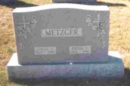 METZGER, VIRGIL P. - Auglaize County, Ohio | VIRGIL P. METZGER - Ohio Gravestone Photos