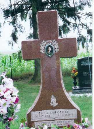 OAKLEY, PEGGY ANN - Auglaize County, Ohio | PEGGY ANN OAKLEY - Ohio Gravestone Photos