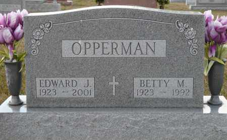 OPPERMAN, BETTY MARIE - Auglaize County, Ohio | BETTY MARIE OPPERMAN - Ohio Gravestone Photos