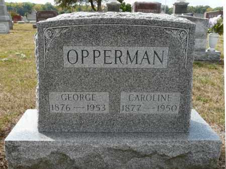 OPPERMAN, CAROLINE MARIE - Auglaize County, Ohio   CAROLINE MARIE OPPERMAN - Ohio Gravestone Photos