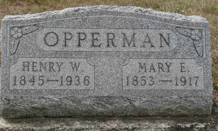 SIEFERT OPPERMAN, MARY ELIZABETH - Auglaize County, Ohio | MARY ELIZABETH SIEFERT OPPERMAN - Ohio Gravestone Photos