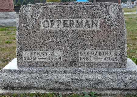 OPPERMAN, HENRY WILLIAM FREDRICK - Auglaize County, Ohio   HENRY WILLIAM FREDRICK OPPERMAN - Ohio Gravestone Photos